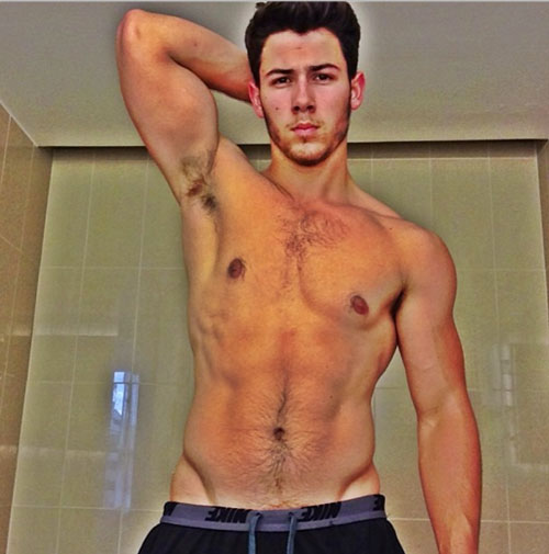 nickjonasshirtlessinstagram