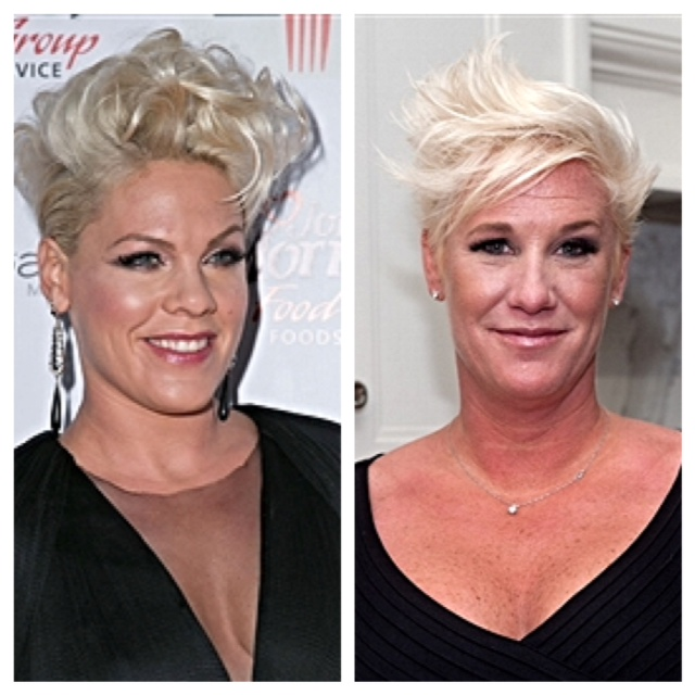 Pink and Anne Burrell