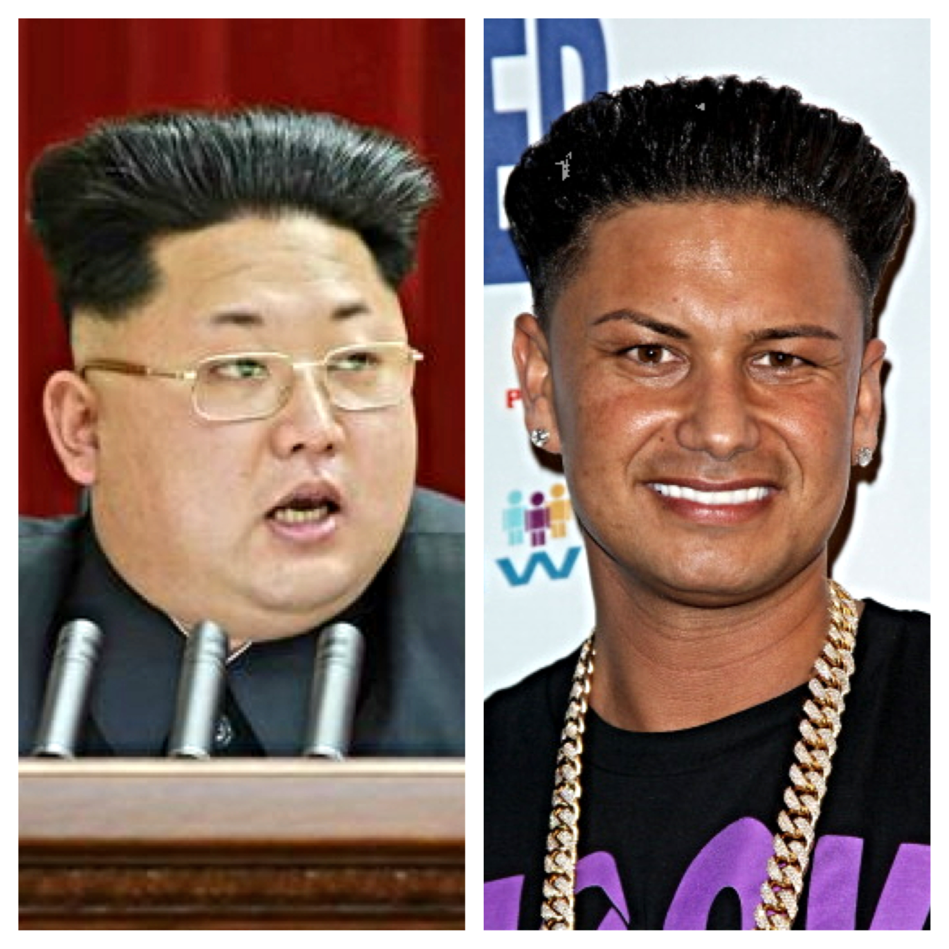 Kim jong uns new haircut gtl jlo the johnny lopez north korean supreme leader kim jong un debuted his brand new do and exquisitely manicured brows at a conference on wednesday which appeared to have been winobraniefo Images