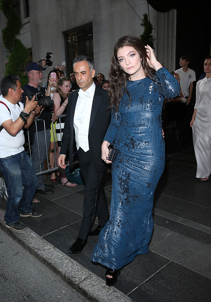MET Gala 2015 - Departures from The Carlyle