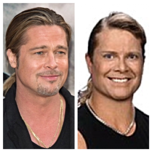 Brad Pitt & Tony Little