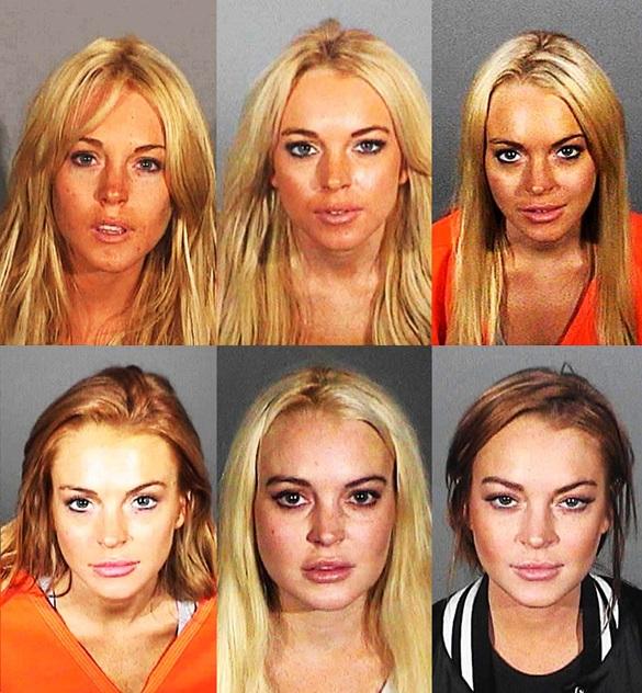 Lindsay-Lohan-Mugshots