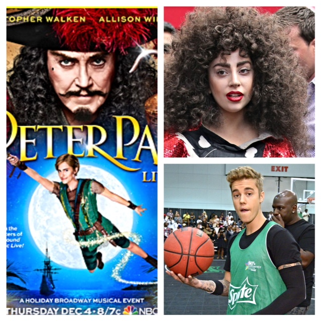 Peter Pan Live with Lady Gaga and Justin Bieber