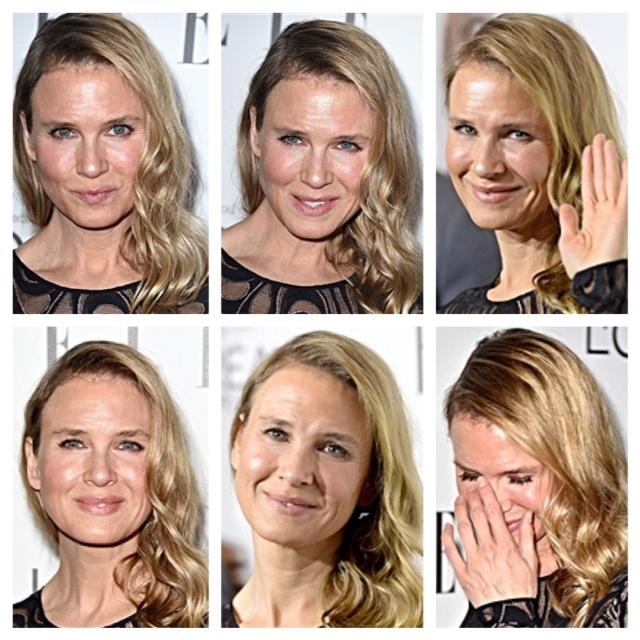 Renee Zellweger's face