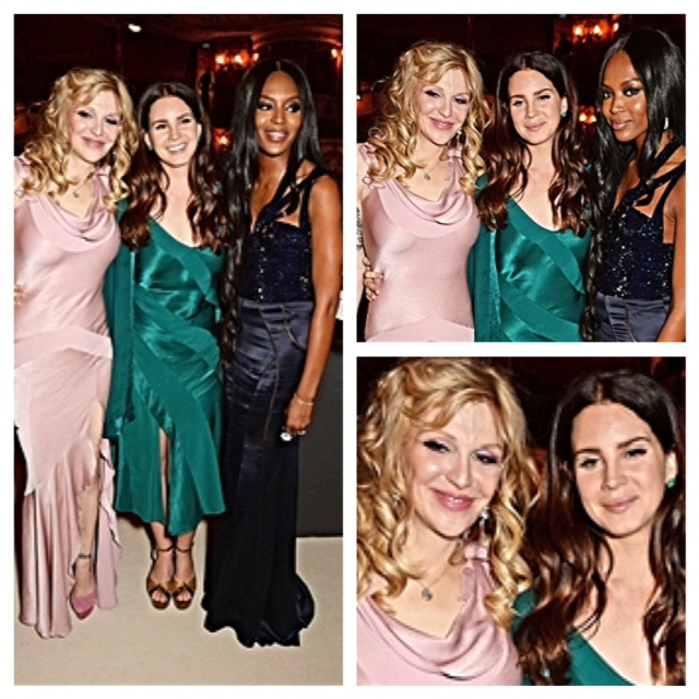 Courtney Love, Lana Del Rey, Naomi Campbell
