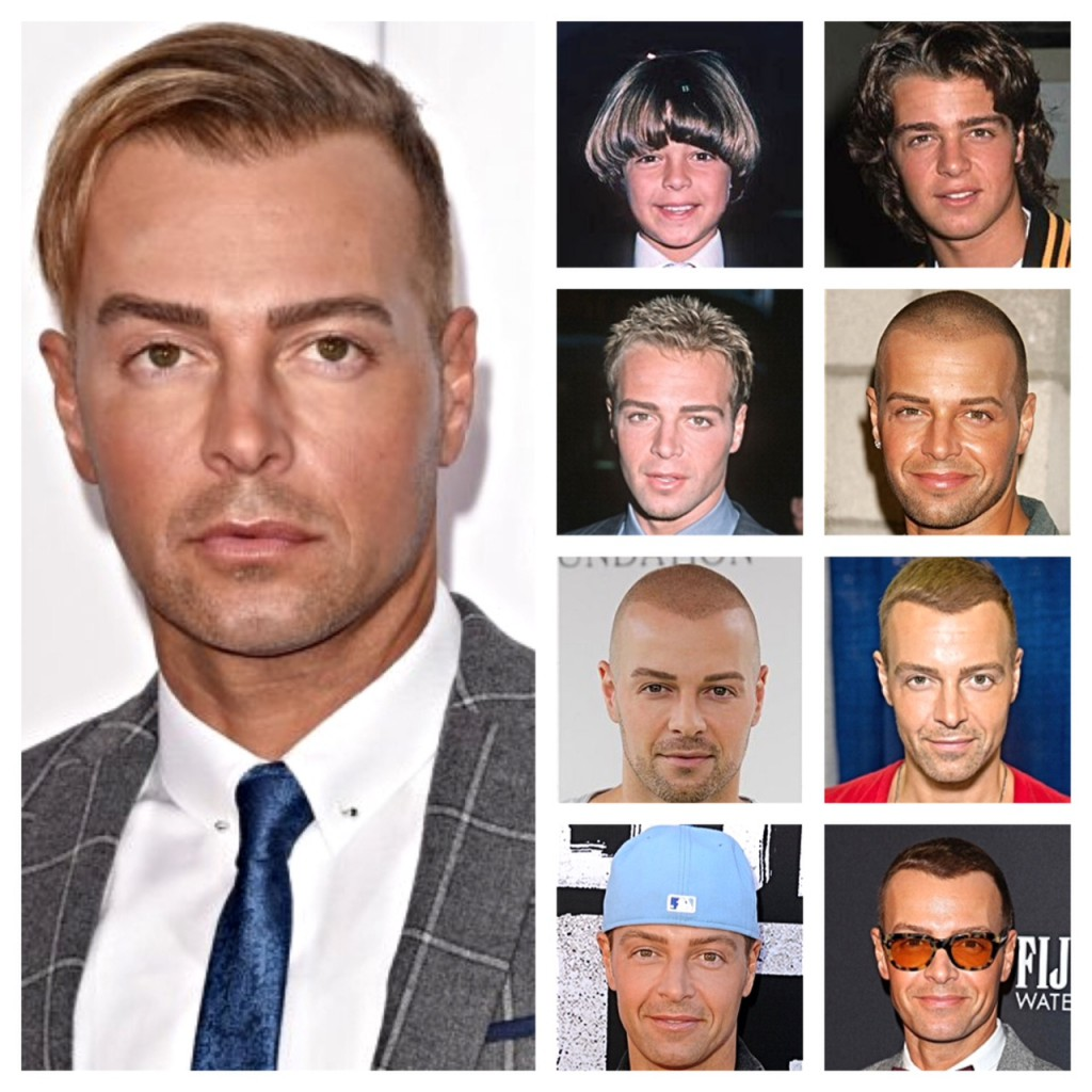 Joey Lawrence hair evolution