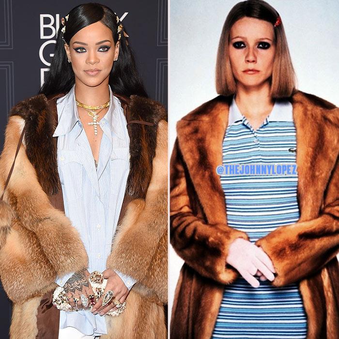 Rihanna_GwynethPaltrow_TheJohnnyLopez