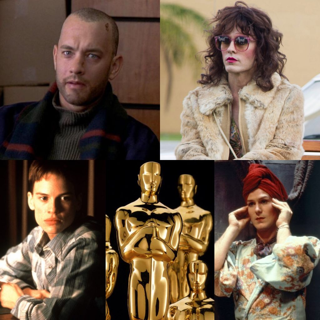 3c3fa567abe5e UPDATE: On Sunday, Mahershala Ali, Rami Malek & Olivia Colman became the  12th, 13th & 14th straight stars to win Oscars for playing LGBT characters.